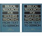 Biblical Resources For Holiness Preaching (2 Vol Set) Hardback
