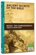 Ancient Secrets #07: Moses' Ten Commandments (#07 in Ancient Secrets Of The Bible DVD Series) DVD