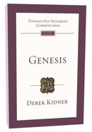 Genesis (Re-Formatted) (Tyndale Old Testament Commentary Re-issued/revised Series) Paperback