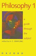 Philosophy 1 Guide Through the Subject