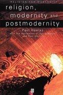 Religion Modernity and Postmodernity Paperback