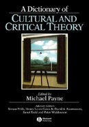 A Dictionary of Cultural and Critical Theory Paperback