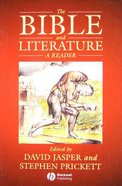 The Bible and Literature Paperback
