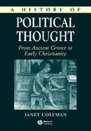 A History of Political Thought (Vol 2) Paperback