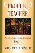 Prophet and Teacher