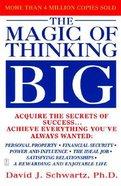 Magic of Thinking Big Paperback
