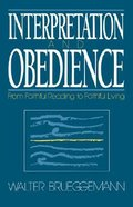 Interpretation and Obedience Paperback