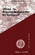What is Social-Scientific Criticism? (Guides To Biblical Scholarship Series) Paperback