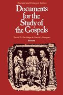 Documents For the Study of the Gospels (1994) Paperback