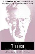 Paul Tillich Paperback