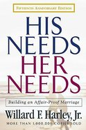 His Needs, Her Needs (15th Anniversary Edition) Hardback