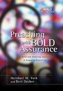 Preaching With Bold Assurance Hardback