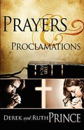 Prayers & Proclamations Mass Market