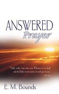 Answered Prayer Paperback