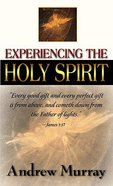 Experiencing the Holy Spirit Mass Market