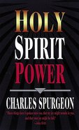 Holy Spirit Power Paperback