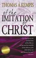 Of the Imitation of Christ Paperback