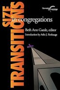 Size Transitions in Congregations