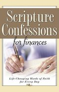 Scripture Confessions For Finances Booklet