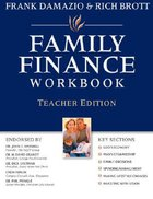 Family Finance Workbook (Teacher's Edition)