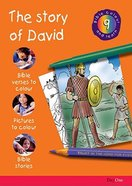 The Story of David (#09 in Bible Colour And Learn Series) Paperback