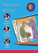 The Story of Paul (#14 in Bible Colour And Learn Series)