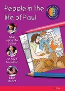People in the Life of Paul (#18 in Bible Colour And Learn Series) Paperback