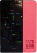 God's Word For Students Pink Prism (Holographic) Imitation Leather