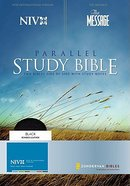 NIV Message Remix Parallel Study Bible Black Bonded Leather