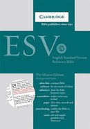 ESV Pitt Minion Reference Black Goatskin (Red Letter Edition) Genuine Leather