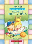 My First Read and Learn Favourite Bible Verses Hardback