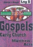 Amazing Bible Race: Leg 5 (Race Director's Manual Cd-rom)