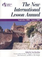 The New International Lesson Annual (2008-2009) Paperback