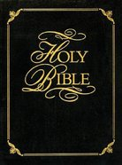 KJV Family Faith and Values Bible (Red Letter Edition) (Heritage Edition)
