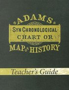 Adams' Map of History (Teacher's Guide) Paperback