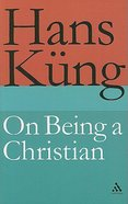 On Being a Christian Hardback