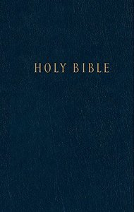 NLT Pew Bible Blue (Black Letter Edition)