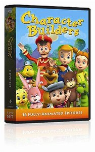 Character Builders: Eight DVD Set