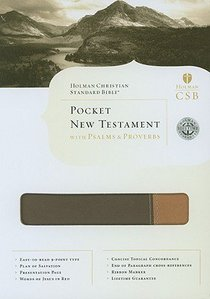 HCSB Pocket New Testament With Psalms and Proverbs