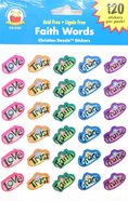 Sticker Pack: Faith Words Novelty
