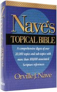 Nave's Topical Bible Hardback