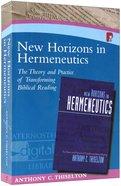New Horizons in Hermeneutics Paperback
