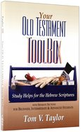Your Old Testament Tool Box Paperback