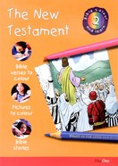 The New Testament (#02 in Bible Colour And Learn Series) Paperback