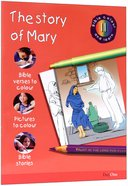 The Story of Mary (#11 in Bible Colour And Learn Series) Paperback