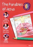 The Parables of Jesus (#15 in Bible Colour And Learn Series) Paperback