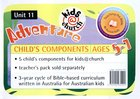 Kids@Church 11: Ad11 Ages 5-7 Child Components (Adventure) (Kids@church Curriculum Series) Poster