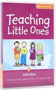 Teaching Little Ones #06: Salvation CDROM (5-8 Years) (#06 in Teaching Little Ones Sunday School Lessons Series) Cd-rom