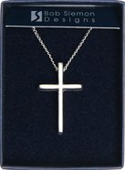 Pendant: Basic Cross Large (Pewter) Jewellery