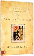 Spoken Worship Paperback